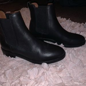 Chelsea Leather Booties